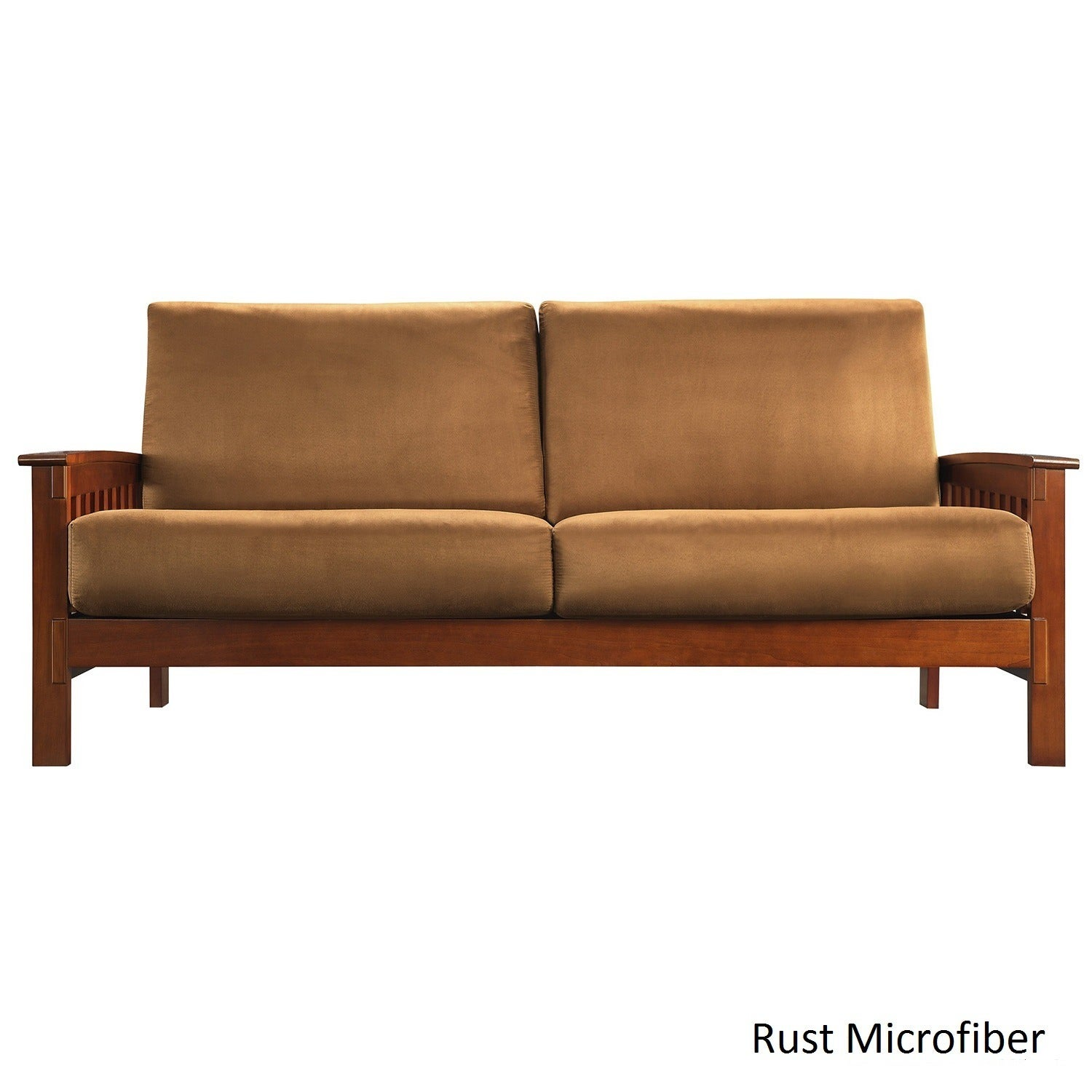 Ordinaire Hills Mission Style Oak Sofa By INSPIRE Q Classic Rust
