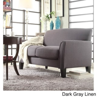 Uptown Modern Loveseat by TRIBECCA HOME