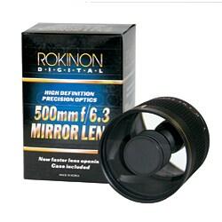 Rokinon 500mm f/6.3 Mirror Lens for Nikon Mount - Thumbnail 2