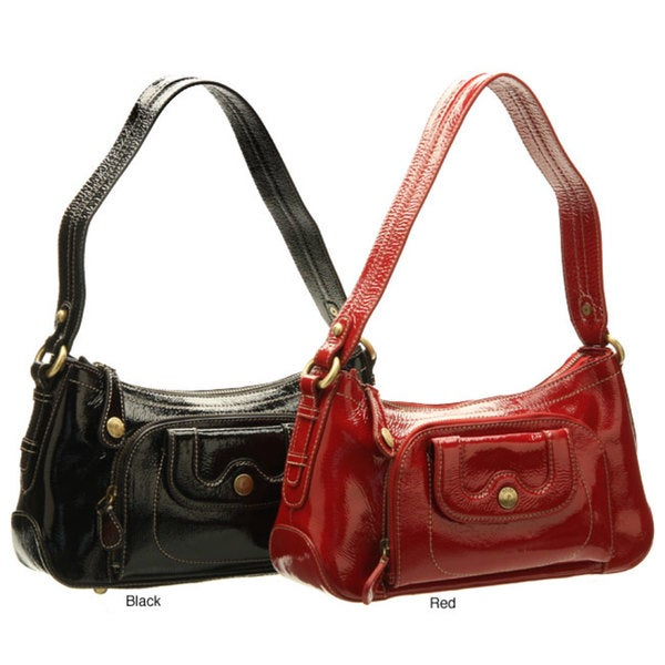 3c60d1c987 Shop Perlina Leather Zip Top Hobo Bag - Free Shipping Today ...