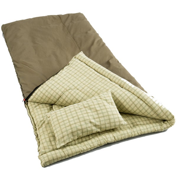 Coleman Sleeping Bag With Pillow