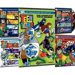 Teen Titans: Seasons 1-5 (DVD)