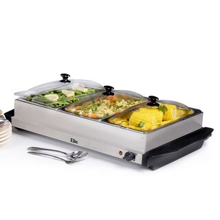Elite Buffet Stainless Steel Warming Server (Electric)