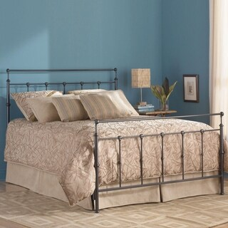 Fashion Bed Group Winslow Metal Bed in Mahogany Gold Finish