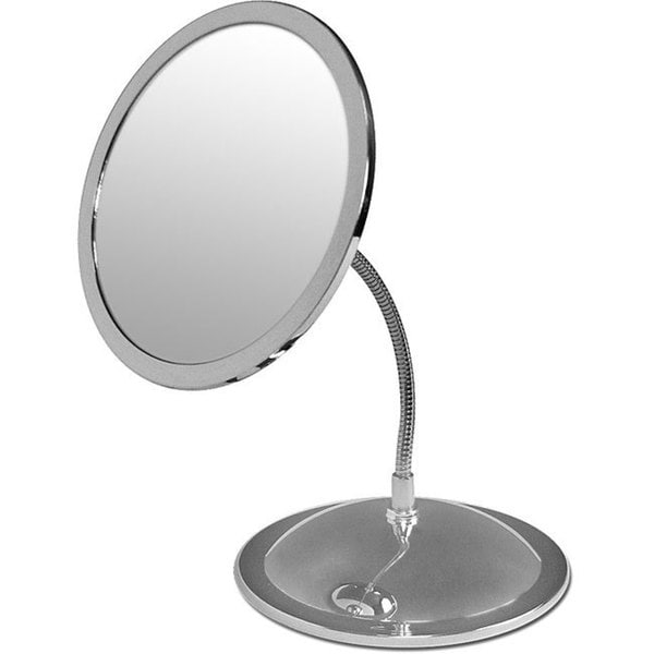 Shop Double Sided 5x Magnification Vanity Mirror With