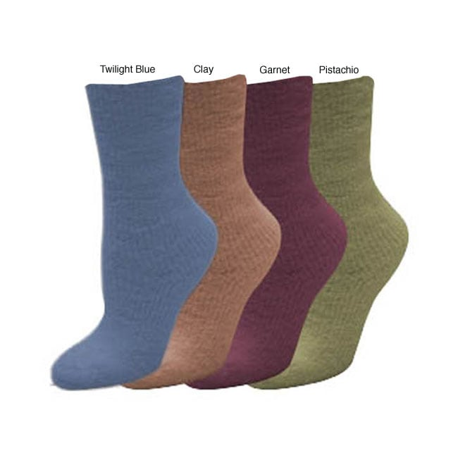 Fireside Casuals Women's Micro Chenille Socks (Pack of 2 Pair)
