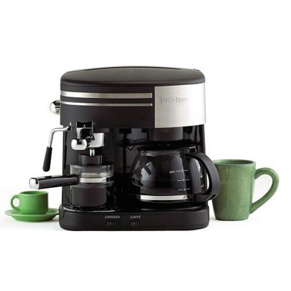 Cuisinart Coffee Maker Wonot Pump Water : West Bend 3-in-1 Coffee Machine - Free Shipping Today - Overstock.com - 11947943