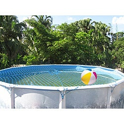 Water Warden 18-foot Round Pool Safety Net - Thumbnail 0