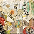 Gallery Direct Judy Paul 'Garden' Oversized Canvas Art