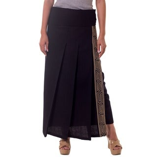 Handmade Cotton 'Thai Deluxe' Wraparound Skirt (Thailand)