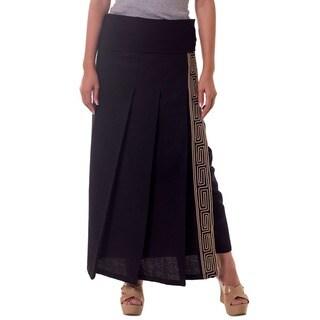 Handmade Cotton 'Thai Deluxe' Wraparound Skirt (Thailand)|https://ak1.ostkcdn.com/images/products/3916056/P11957590.jpg?_ostk_perf_=percv&impolicy=medium