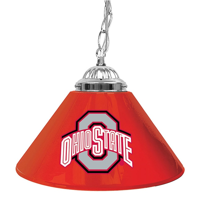 Budweiser Pool Table Light Plastic: Ohio State 14-inch Hanging Light Bar Lamp