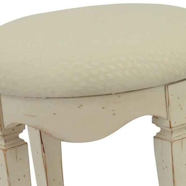 Fine Shop Safavieh Melissa Antique White Vanity Stool Free Alphanode Cool Chair Designs And Ideas Alphanodeonline