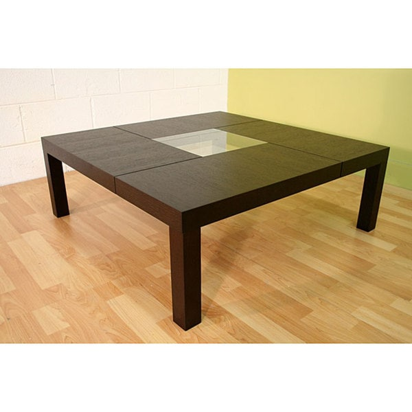 Denley Oversized Black Coffee Table Free Shipping Today 11947149