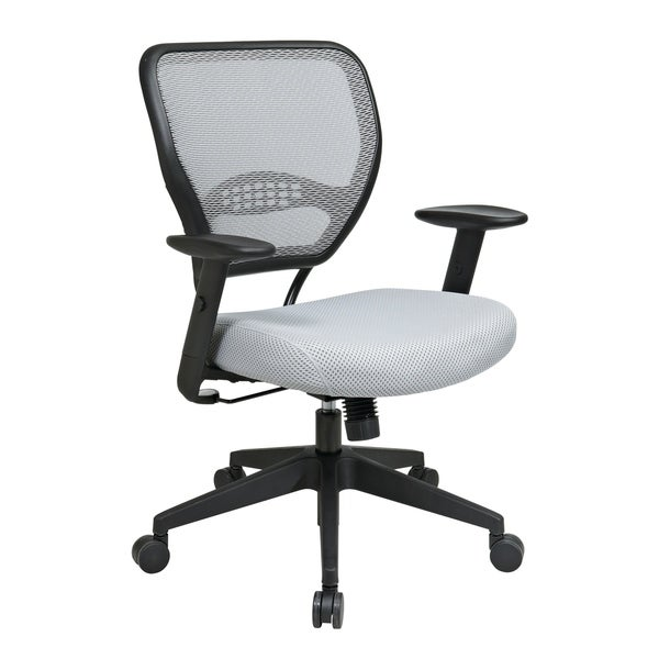 Back and Shadow Mesh Seat Office Chair