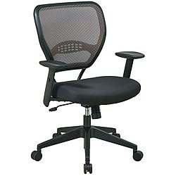 Office Star Deluxe Latte Air Grid Managers Chair