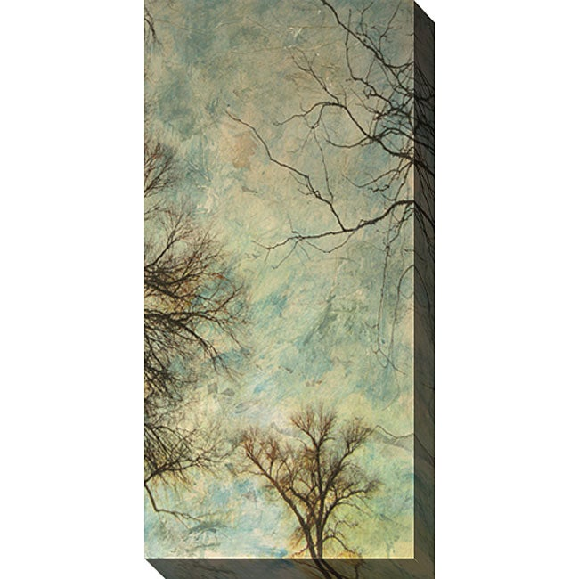 Gallery Direct Sara Abbott 'Abstract Trees V' Gallery-wrapped Art