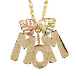 Black Hills Gold MOM Necklace