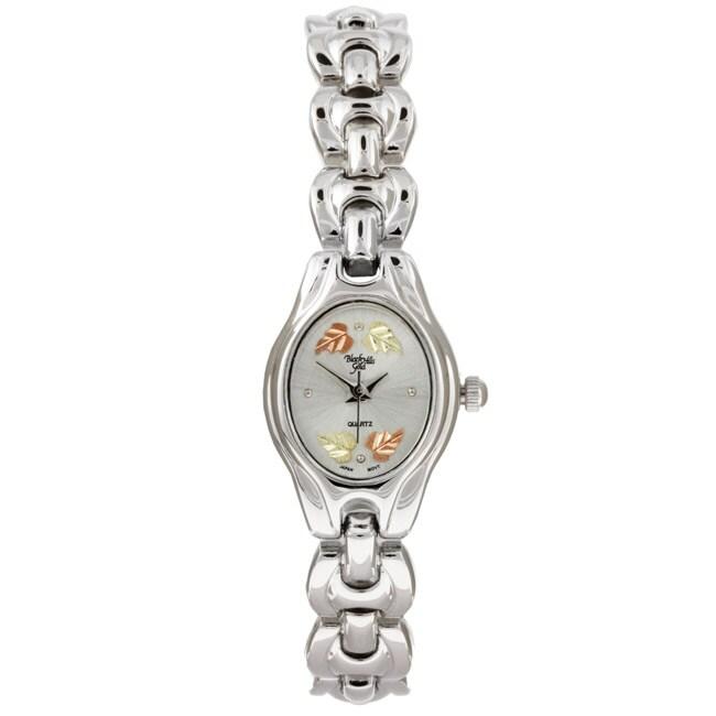Black Hills Gold Silvertone Ladies Watch