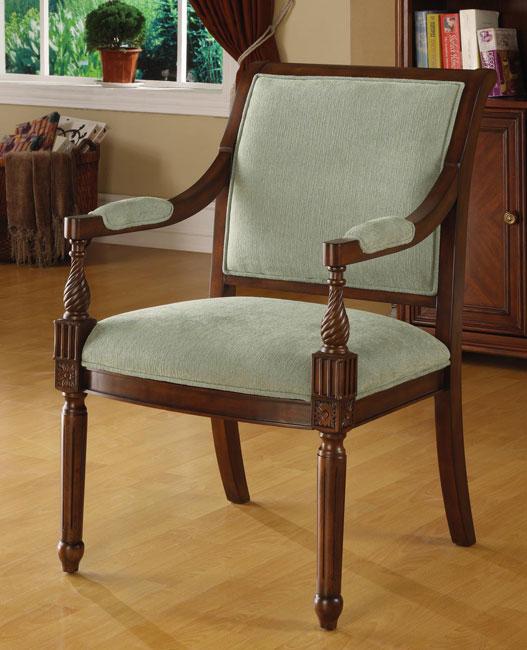 Chester Aqua Arm Chair