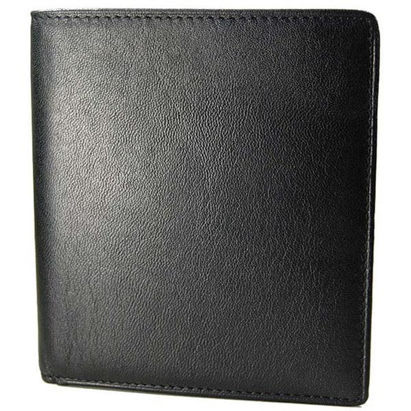 Romano Men's Italian Leather 'Hipster' Wallet