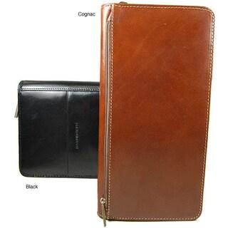 Colombo RFID Zip-around Family Passport Travel Wallet