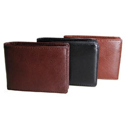 Torino Men's Leather Slim Fold Wallet