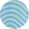Blue Waves Rug - 6'