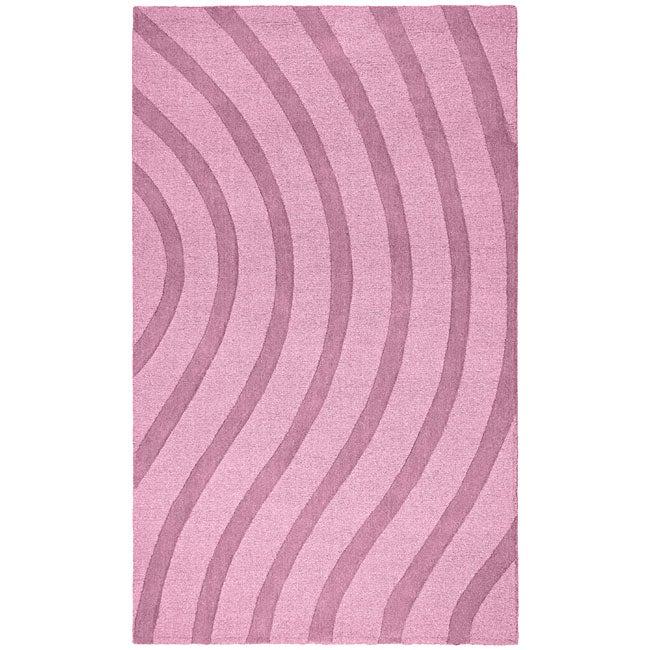 Elite Wave Wool Rug (8' x 10') - 8' x 10'