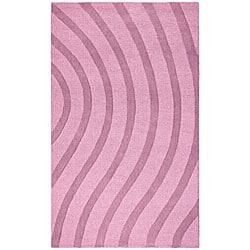 Elite Wave Wool Rug (8' x 10') - 8' x 10' - Thumbnail 0