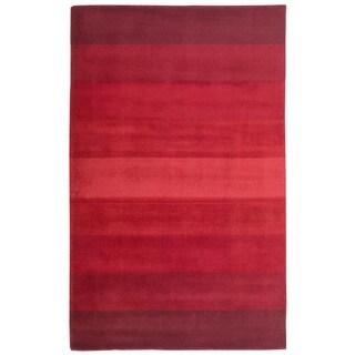 Red Stripes Rug (5' x 8')