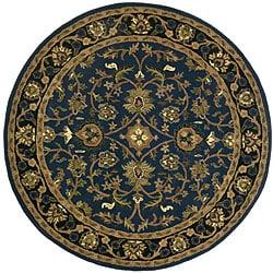 Kashan Blue Rug (8' Round)