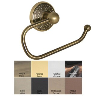 Allied Brass Monte Carlo Euro-style Toilet Tissue Holder (More options available)