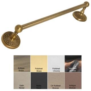 "Allied Brass Monte Carlo 24-inch Towel Bar - 24"" (Option: Matte Black)"
