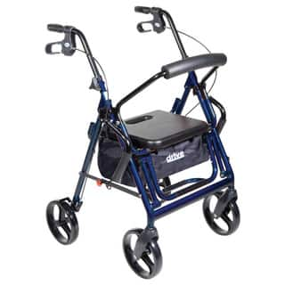 Drive Duet Transport Chair/ Rollator|https://ak1.ostkcdn.com/images/products/3925062/P11965949.jpg?impolicy=medium