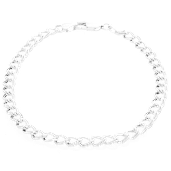 Sterling Silver Children X27 S Charm Bracelet