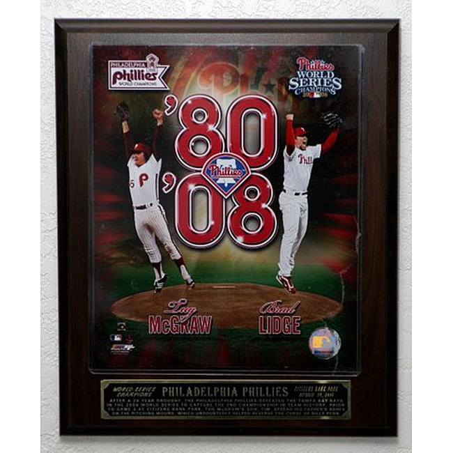 1980-2008 Philadelphia Phillies Picture Plaque