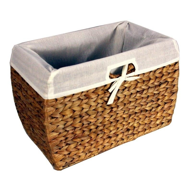 Basket With File Liner Seagrass UMSzpGqV