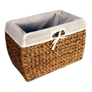 Link to Seagrass File Basket with Liner Similar Items in Filing Storage & Accessories