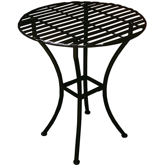 Bistro Round Table - Black