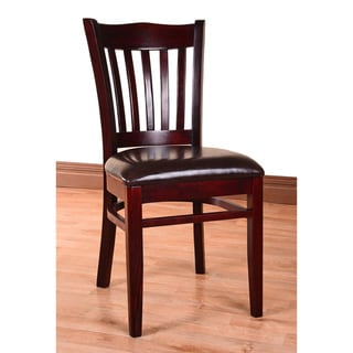 Hybrid Upholstered Wood Dining Chairs (Set of 2)