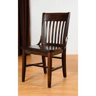 School House Walnut Dining Chair (Set of 2)