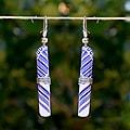 Tin Can Tube Earrings (Zimbabwe)