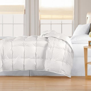 Classic 240 Threadcount Lightweight All-season White Down Comforter (3 options available)