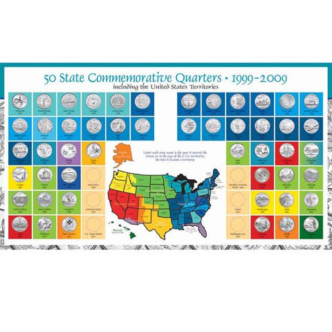American Coin Treasures Complete Statehood Quarter Coin Collection