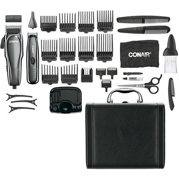 Shop Conair Combo Cut 32 Piece Combo Deluxe Haircut Kit Free
