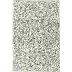 Shaggy White Area Rug (4' x 6')