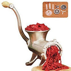 Weston No. 22 Tinned Manual Meat Grinder