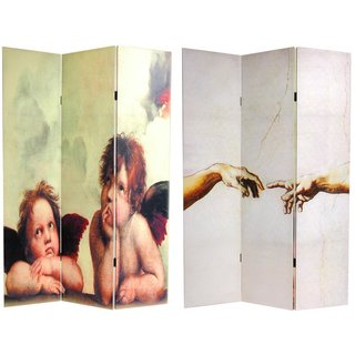 Canvas Double-sided Cherubs Room Divider (China)