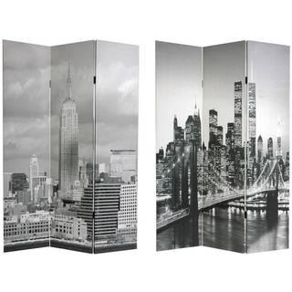 Handmade New York City Room Divider